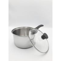 Saucepan 17 cm Stainless Steel INOCOOK