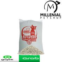 Pasir Kucing murah Zeolit putih 25 kg Gumpal catsand zeolite 25kg - NOMOR 2 SEDANG