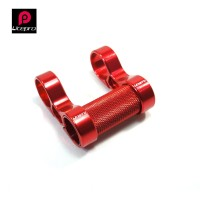 LITEPRO S82 Bike Double Stem Riser 25.4 Handlebar -Sepeda Lipat RED