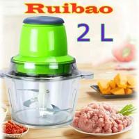 Blender Daging Elektrik Meat Grinder Food Processor 2L