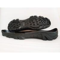 insole sepatu Sol Delta ori karet gurun loreng hitam