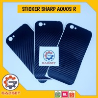 Sticker Pelindung Sharp Aquos R SHV39 Cover Case SHV 39 Termurah