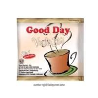 Kopi Good Day Bubuk Vanilla Latte / 1 Karton 25 Renceng / 20gr
