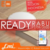Xiaomi Mijia 1C 2-in-1 Sweeping Mopping Robot Vacuum Cleaner By EMI