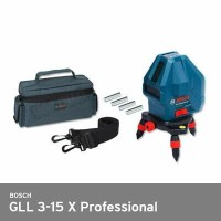 Laser Level / Cross Level BOSCH GLL 3-15 X