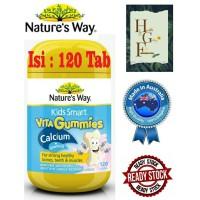 Nature's Way Kids Gummies Calcium + Vitamin D 120 Capsules