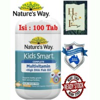 Nature's Way Kids Smart Complete Multivitamin+High DHAFishOil 100 Caps