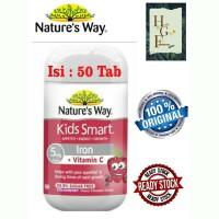 Nature's Way Kids Smart Iron + Vitamin C 50 Capsules