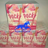 GlICO POCKY SAKURA LIMITED EDITION - PINK