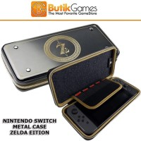 Case Tas Nintendo Switch Metal Alumi Aluminium Metal Zelda Edition 014