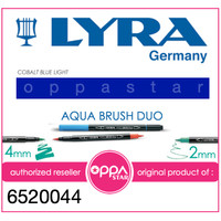 Lyra Aqua Brush Duo Pen Light Cobalt # 6520044