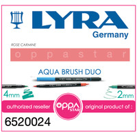 Lyra Aqua Brush Duo Pen Rose Carmine # 6520024