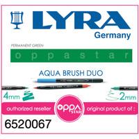 Lyra Aqua Brush Duo Pen Permanent Green 6520067