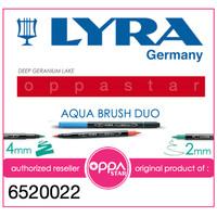 Lyra Aqua Brush Duo Pen Deep Geranium Lake 6520022