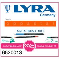 Lyra Aqua Brush Duo Pen Orange 6520013