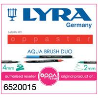Lyra Aqua Brush Duo Pen Dark Orange # 6520015