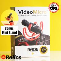 Genuine Rode VideoMicro Microphone - Original Asli Resmi Video Micro