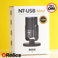 Genuine Rode NT-USB MINI Microphone Studio Quality NTUSB Original Asli