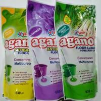Yuri Aganol Antibacterial Floor Cleaner 630ml/ Aganol Pembersih Lantai