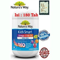 Nature's Way Omega-3 Fish Oil High DHA Trio 180