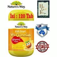 Nature's Way Kids Smart VitaGummies Vitamin C + Zinc 120Tab