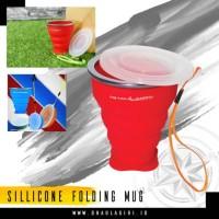 Silicon Folding Mug Gelas Lipat Camping Dhaulagiri