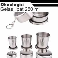 Gelas lipat Dhaulagiri FOLDING MUG 4LAYER 250ml