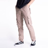 Celana Indie Bandung - Long Cargo Pants Mocca