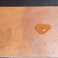 Leather Finish Mixture Of Hydrophobic Oil and Wax