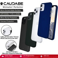 Original Caudabe Veil XT Case iPhone 11 Pro Max / 11 / 11 Pro Casing - iPhone 11ProMax, Black