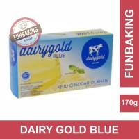 FunBaking - Keju Cheddar DairyGold blue 170 gram - Dairy Gold Blue
