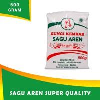 Tepung Sagu Aren cap KUNCI KEMBAR 500 gr