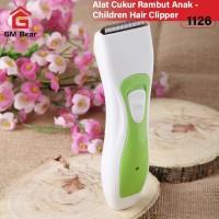 GM Bear Alat Cukur Rambut Elektrik Bayi Anak 1126-Baby Hair Clipper