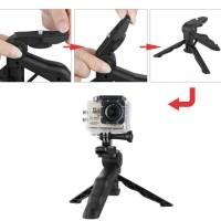 2 in 1 Portable Mini Folding Hand Monopod Stand Tripod DSLR Camera .