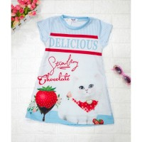 DRESS ANAK / DRESS ANAK IMPORT / BAJU ANAK / DRESS ANAK KOREA CAT - 4