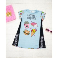 DRESS ANAK / DRESS ANAK IMPORT / DRESS ANAK KOREA SNACK
