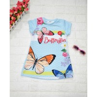 BAJU ANAK / DRESS ANAK IMPORT / DRESS ANAK KOREA / DRESS BUTTERFLY - 6
