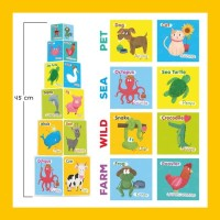 Opredo Mini Tower Blocks: Animals
