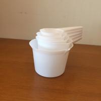 Measuring Cup Spoon Set, Kitchen Essential, Plastic 11 pcs