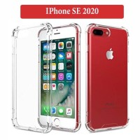 IPhone SE 2020 Soft Case Silicone Anti Crack Casing Back Cover Clear