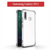 Samsung Galaxy M11 Soft Case Silicone Anti Crack Casing Cover Clear