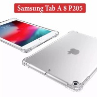 Samsung Tab A8 8.0 P205 Softcase Silikon Case Clear Anticrack Casing