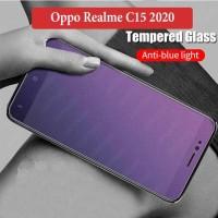 Oppo Realme C15 2020 Anti Gores Spy Tempered Glass Matte Protector