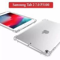 Samsung Tab 2 7.0 P3100 Softcase Silikon Case Anti Crack Clear Casing