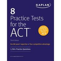 Buku Kaplan 8 Practice Test for ACT