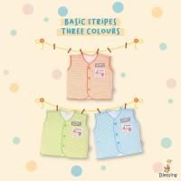 Blessing babywear-baju bayi kutung newborn neci-0-3 bulan-salur-3wt