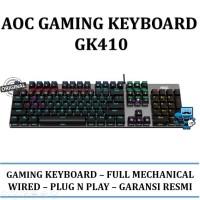 AOC Gaming Keyboard GK410 / GK-410 - Original Product