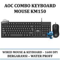 AOC Keyboard & Mouse Combo KM150 / KM-150 - Original Product