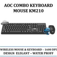 AOC Keyboard & Mouse Combo KM210 / KM-210 - Original Product