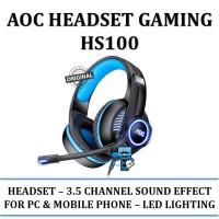 AOC Gaming Headset HS100 / HS-100 - Original Product